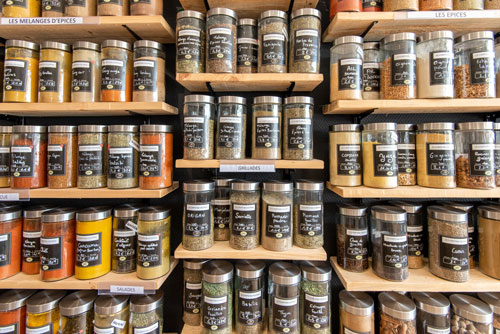 Les épices et aromates